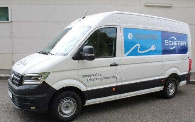 Volkswagen T6 Kasten | T6 Transporter Kasten e-Crafter35KastenHD EM85 100 kW3640 mm